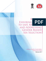 Safe Abortion and Gender Guidance Handbook