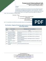Temprecord International Ltd. IP Rating Information Sheet.pdf