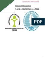 Adolescent Health Guidelines FOGSI