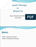 Adjuvant therapy in breast cancer