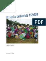 Festival del Barrilete 2016
