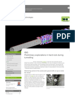 Pioneering Underground Technologies