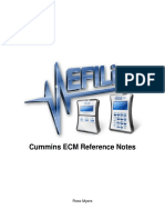 Cummins ECM Reference Notes