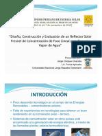 diseño costruccion y evaluacion de un reflector solar para generar vapor de agua.pdf