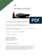 Curso de Piano-libreria Adonay