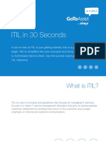 Projectline GoToAssist Be Mighty ITIL Quick Guide eBook