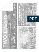 Bridge Initiative events