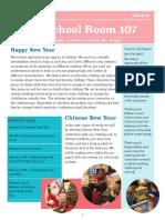 1-20-17 preschool newsletter