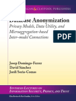 Database Anonymization