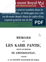 LES KABIR  PANTIS - J.S. HARRIOT