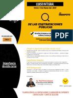 Curso Integral de las Contrataciones Públicas (Tarapoto)