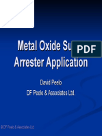 Metal Oxide Surge Arrester Application - Presentation