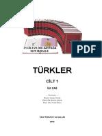 1. Türkler Ci̇lt 01 i̇lkçağ