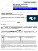 Rottmazione cartelle - modello DA1
