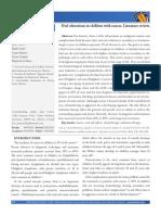 Dialnet-OralAlterationsInChildrenWithCancerLiteratureRevie-4914918.pdf