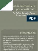 Control de La Conducta Por El Estímulo. (1)