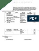Programación Anual Del Área Curricular de Pp.ff.Rr.hh 5to Secundaria