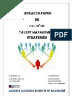 Talent Management Strategies