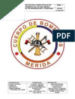 Manual de Organizacion Bomberos