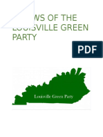 bylaws of the louisville green party ii  adopted from kentucky green party