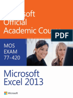 MOAC Excel 2013 Unabridged