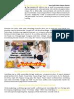 Situs Judi Online Dengan Kontak Yang Jelas Dan Mudah Dihubungi