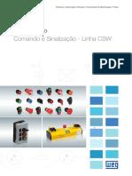 WEG Comando e Sinalizacao Linha Csw 50009820 Catalogo Portugues Br