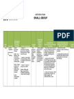 Small Group Action Plan