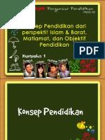 66786760-Konsep-Pendidikan-Dari-Perspektif-Islam-Dan-Barat-Matlamat-Objektif-Pendidikan.pptx