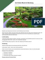 Jasa Tukang Taman Dan Kolam Murah Di Bandung - 0813 2245 3138