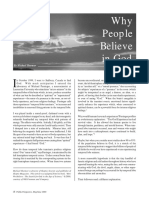 why people believe in god