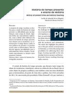 Historia do Tempo Presente  ensino de historia - Marieta de Moraes Ferreira - Artigo.pdf