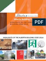 Alberta Building Code Highlights-SCC-2015