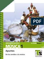 Educación Artística Telesecundaria Música 1