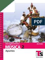 Educación Artística Telesecundaria Música 2