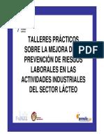 Talleres Prl Sector Lacteo Evaluacion de Riesgos