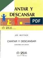 WUYTACK, J. - Cantar y descansar. Canciones con gestos.pdf
