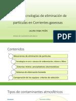 TEMA 5 - Eliminación Partículas
