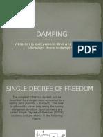 Damping and Resonance