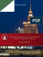 MUEGGE Financial regulation in the European Union