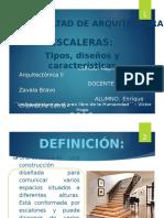 DEFINICION DE ESCALERAS