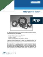 RBE Series Motors Brochure en-US 2003