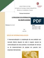 Apresentação Finanças Internacionais 1