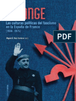 Falange. Las culturas políticas del fascismo en la España de Franco (1936-1975)