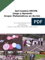 Actividad Cumbre MECPA