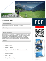 Travel Guide - Swiss