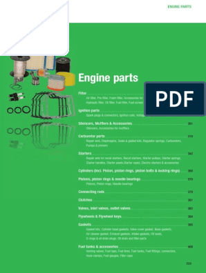 Arnold Small Engine Parts - European Catalog | Piston | Ignition System