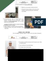 Induccion Personal Nuevo Bpm Almuerzos