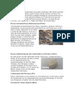 Estratigrafía de Guatemala