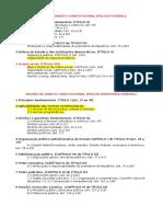 Conteúdo Programático PF e PRF (Constitucional)